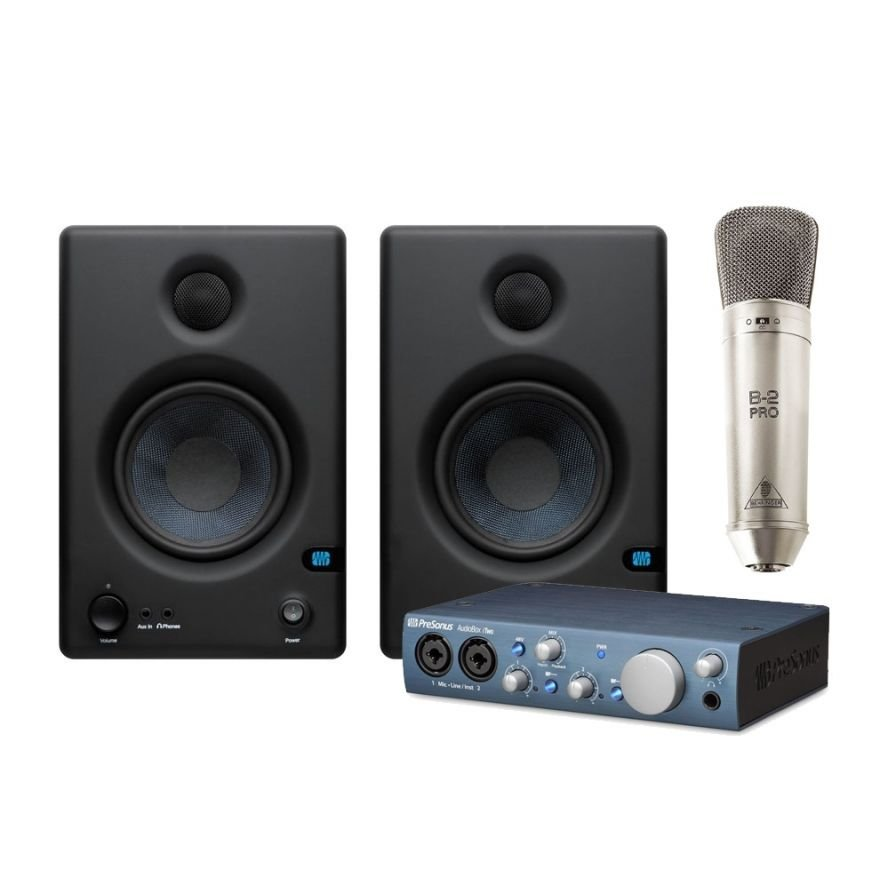presonus home studio recording pack musical store 2005. Black Bedroom Furniture Sets. Home Design Ideas