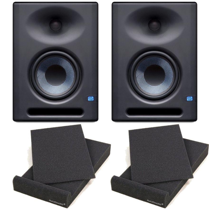 Presonus Eris E8 XT Monitor da Studio 130W (Coppia) + 2 Pad Isolante