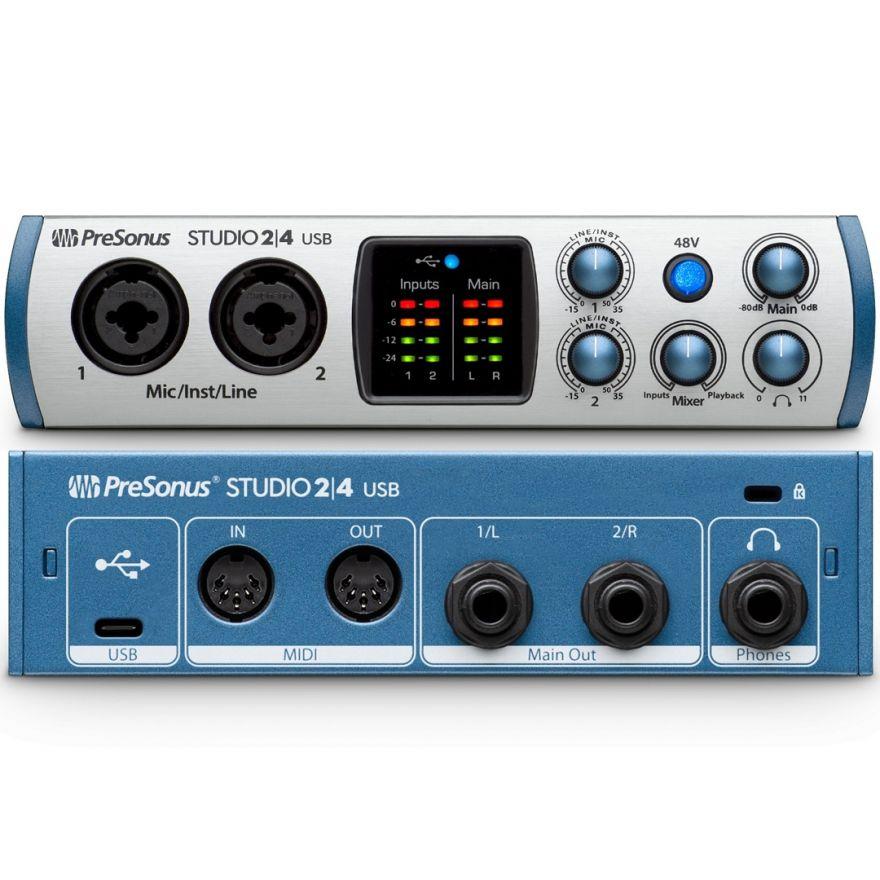 Presonus Studio 24 - Interfaccia Audio USB 2in/4out