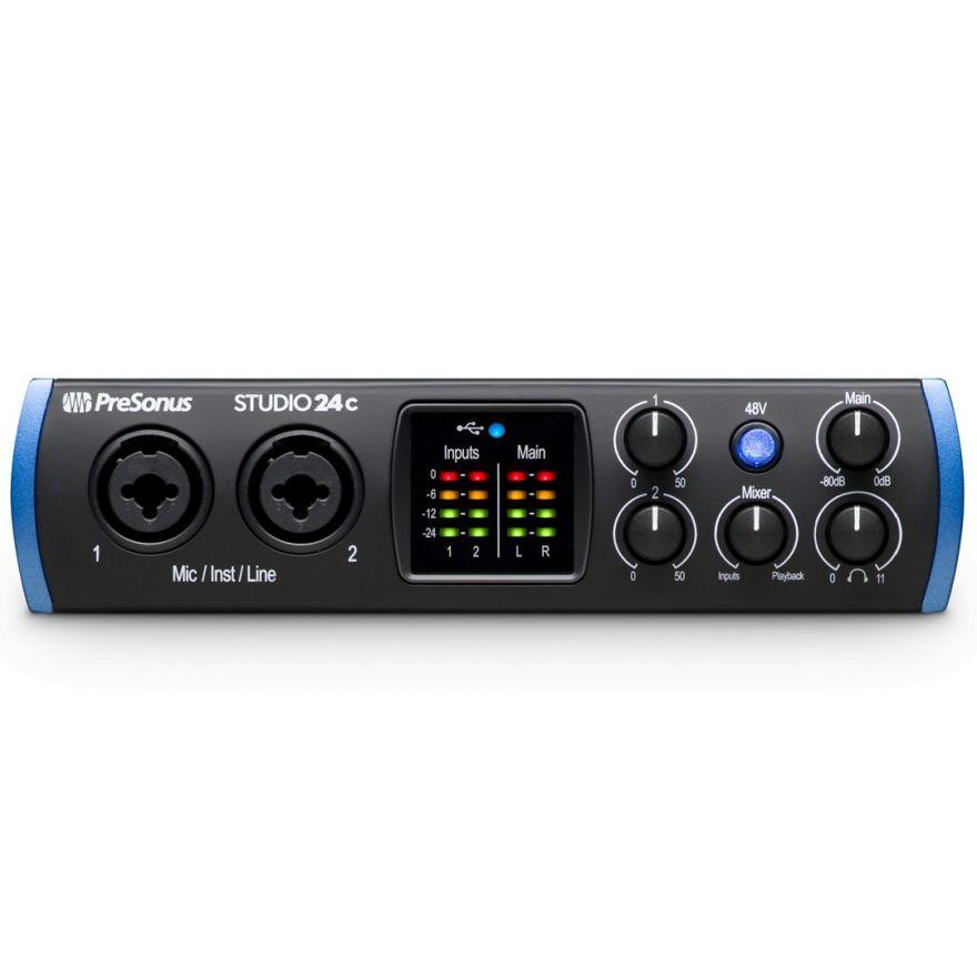PreSonus Studio 24c - Interfaccia Audio MIDI/USB 2 in/2 out