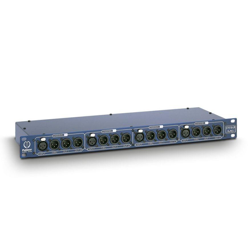 Palmer Pro PRMMS - Splitter Microfonico a 4 Canali