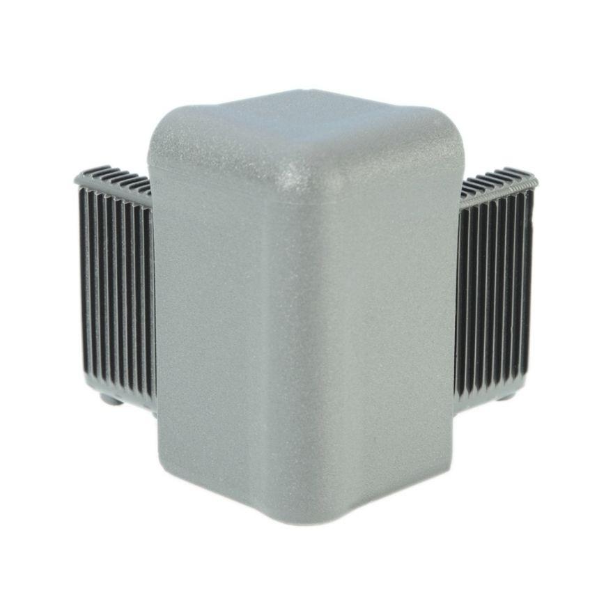 Adam Hall Hardware Q 4504 AG - Angolo grigio alluminio per Telaio di Copertura