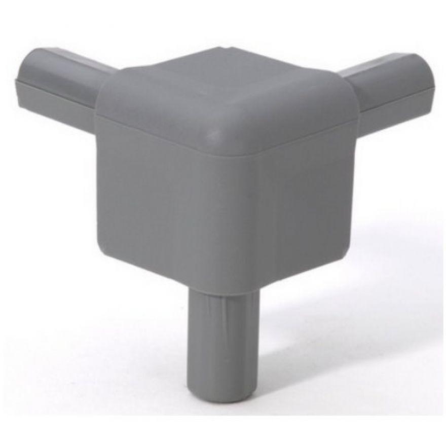 Adam Hall Hardware Q 4506 MG - Angolo grigio medio per Casemaker