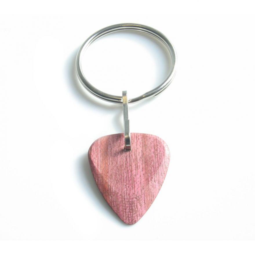 0 TIMBERTONES - Portachiavi con plettro in legno Purple Heart