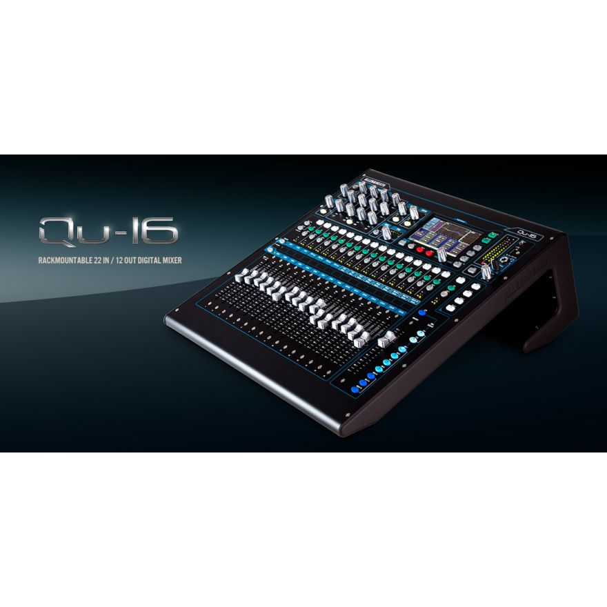 ALLEN & HEATH QU24 CHROME UPGRADE