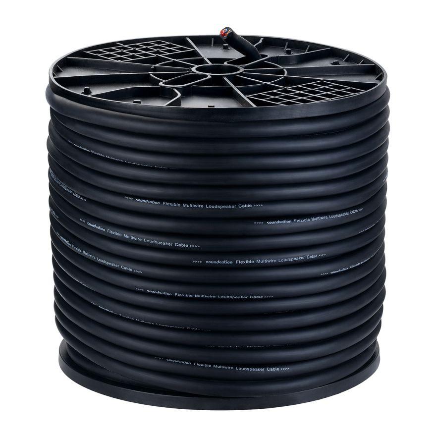 0 SOUNDSATION - Bobina cavo speaker Wiremaster (4x4 mm² - 100mt)