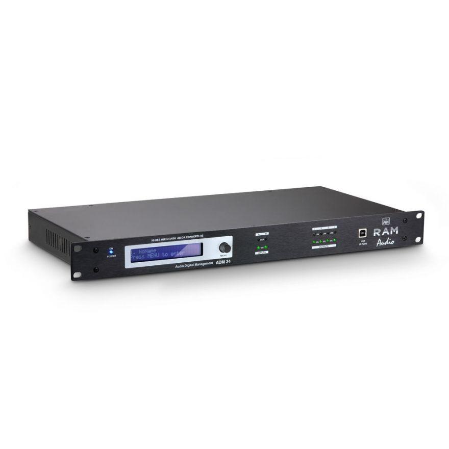 """Ram Audio ADM 24 - Controller DSP da 19"""""""