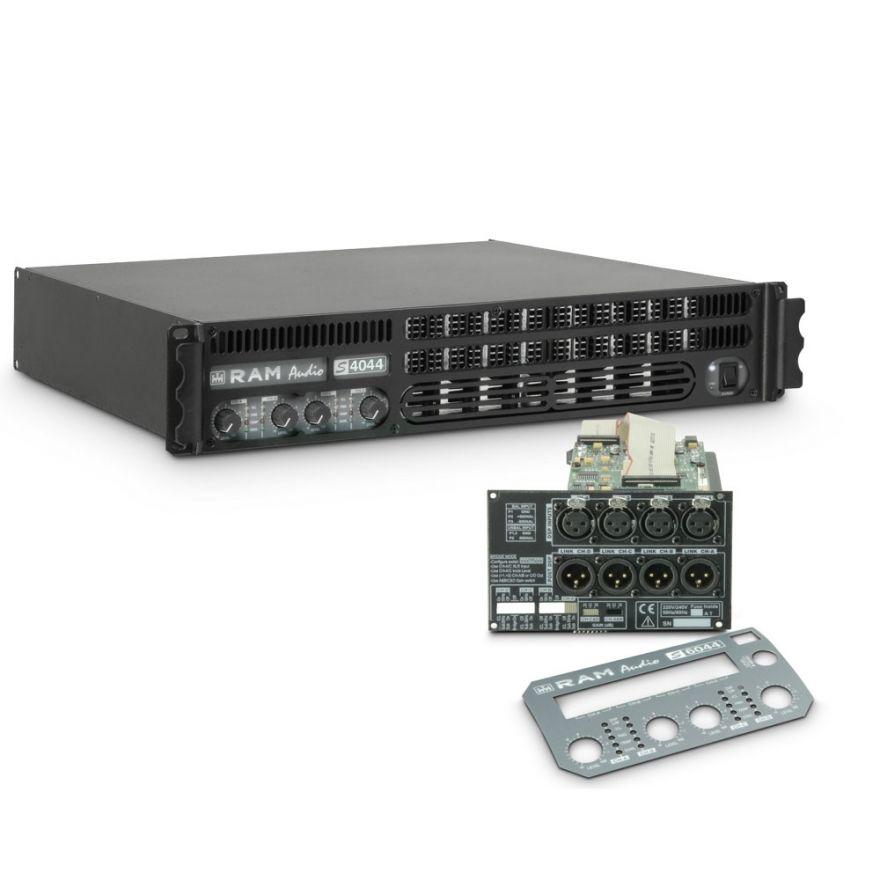 Ram Audio S 4044 DSP - Finale di potenza PA 4 x 975 W 4 Ohm incl. modulo DSP