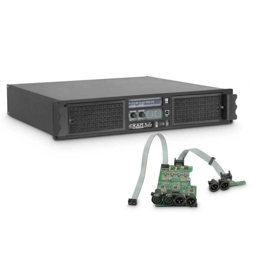 Ram Audio W 6000 DSP - Finale di potenza PA 2 x 3025 W 2 Ohm incl. modulo DSP