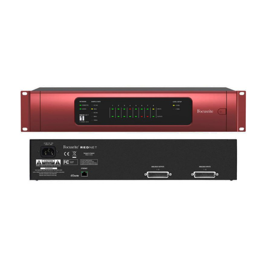 FOCUSRITE REDNET 1 - Convertitore Digitale