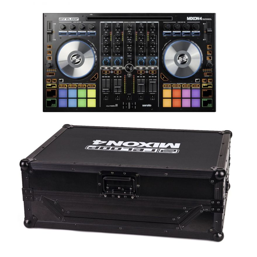 RELOOP DJ PACK MIXON 4 Performance Controller 4 Canali / Case Compatibile_preview