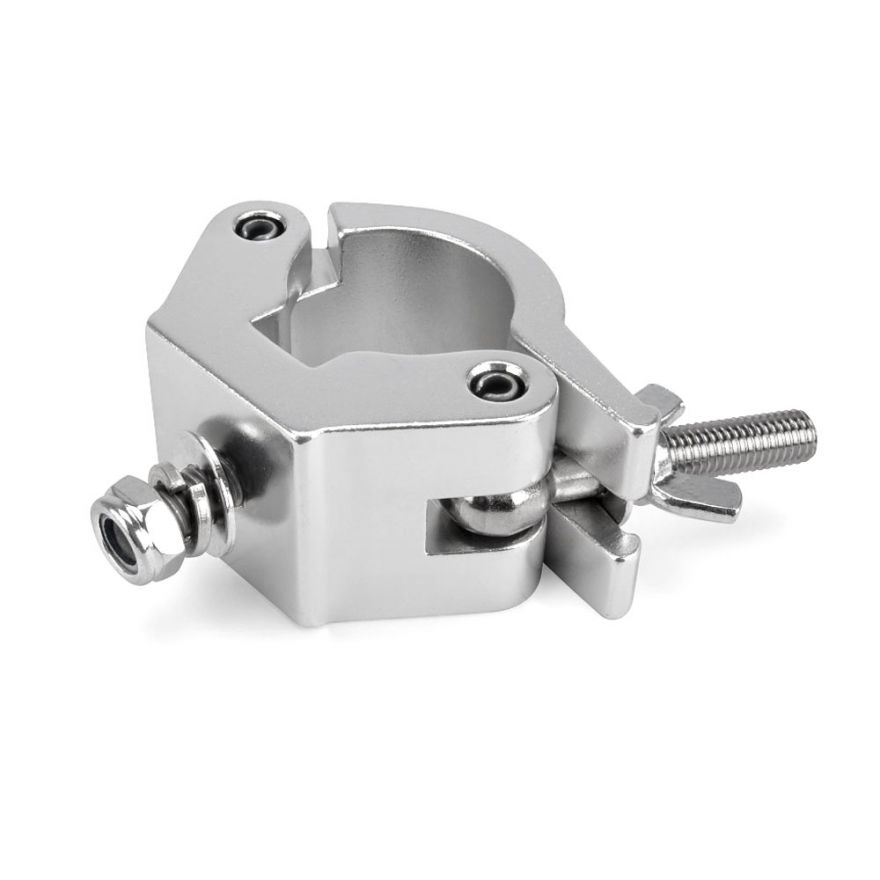 RIGGATEC RIG 400 200 038 - Halfcoupler Heavy Silver max. 750kg (48-51mm) stainless steel