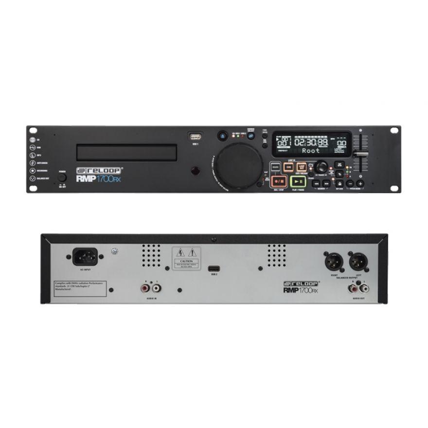 Reloop RMP 1700 RX - Media Player a Rack