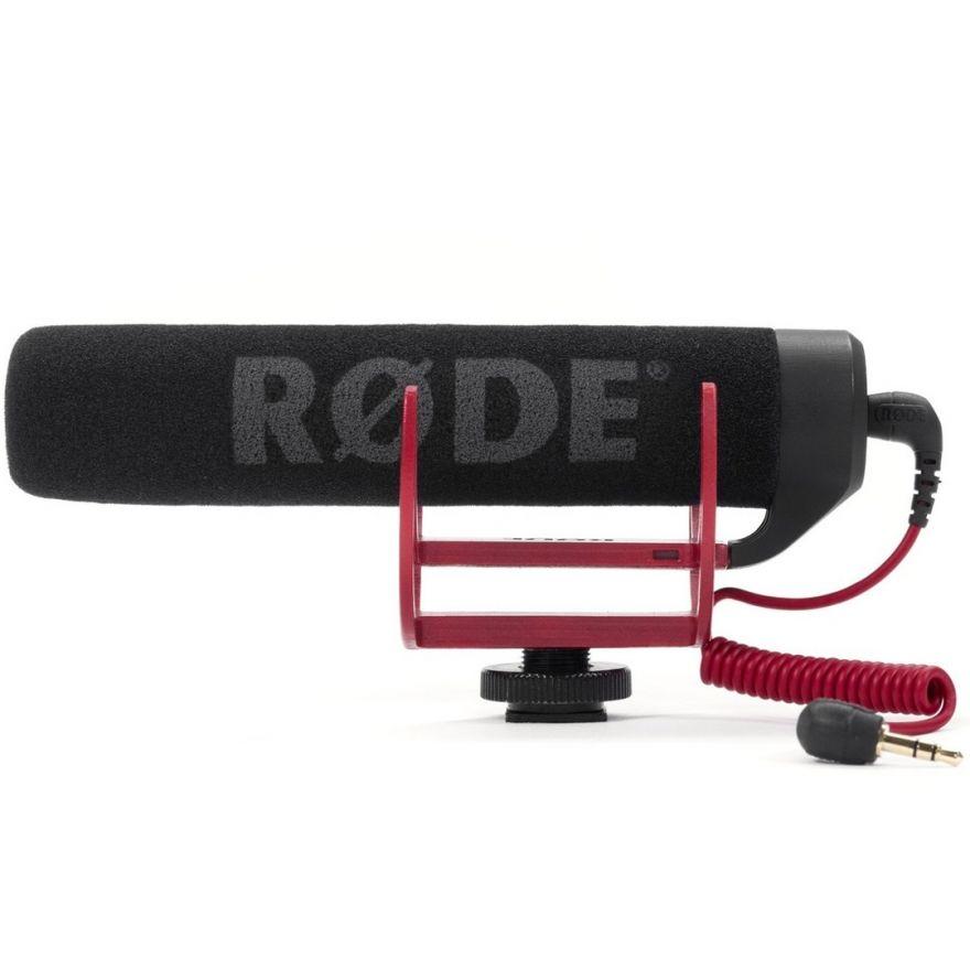 Rode VideoMic Go - Microfono per Videocamera con Sospensione Elastica