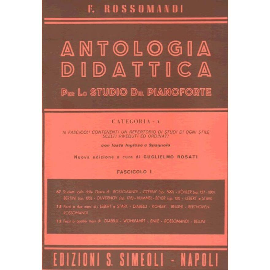 Rossomandi antologia didattica cat a 1