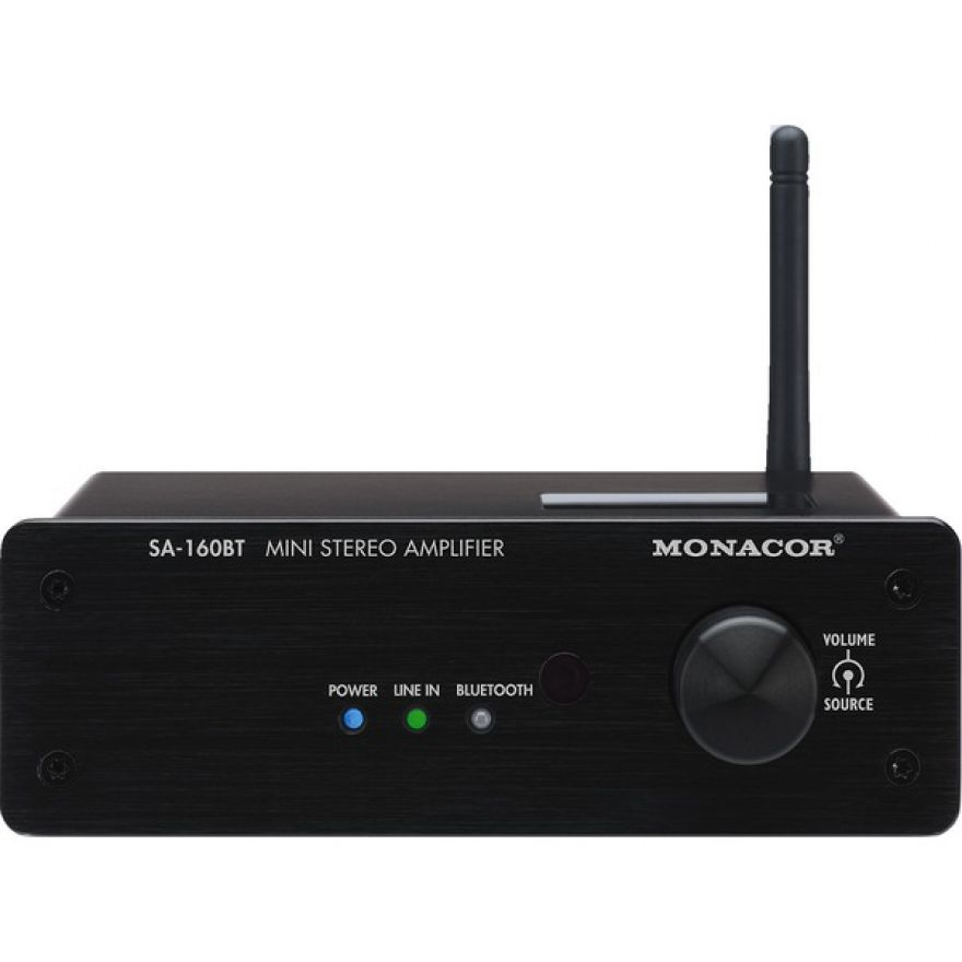 Monacor SA-160BT  Amplificatore con bluetooth