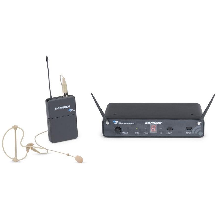 Samson Concert 88 Earset - Radiomicrofono UHF con Archetto