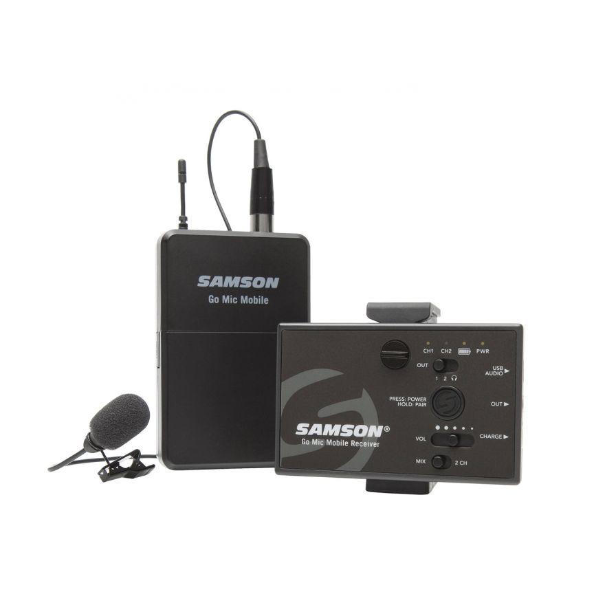 Samson go mic mobile sistema microfonico per smartphone for Smartphone ultime uscite