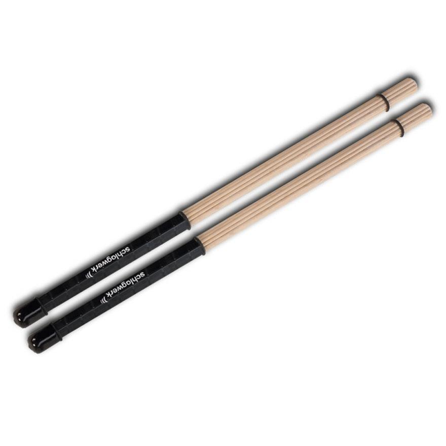 Schlagwerk RO1 - Coppia di Rod in Acero per Percussioni