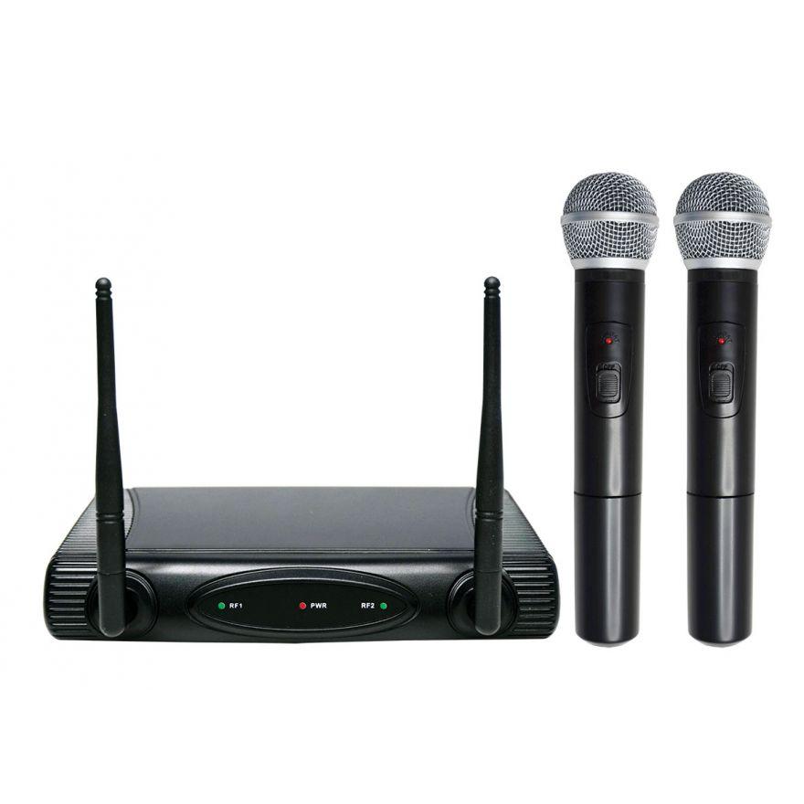 SET 6082A doppio radiomicrofono vhf