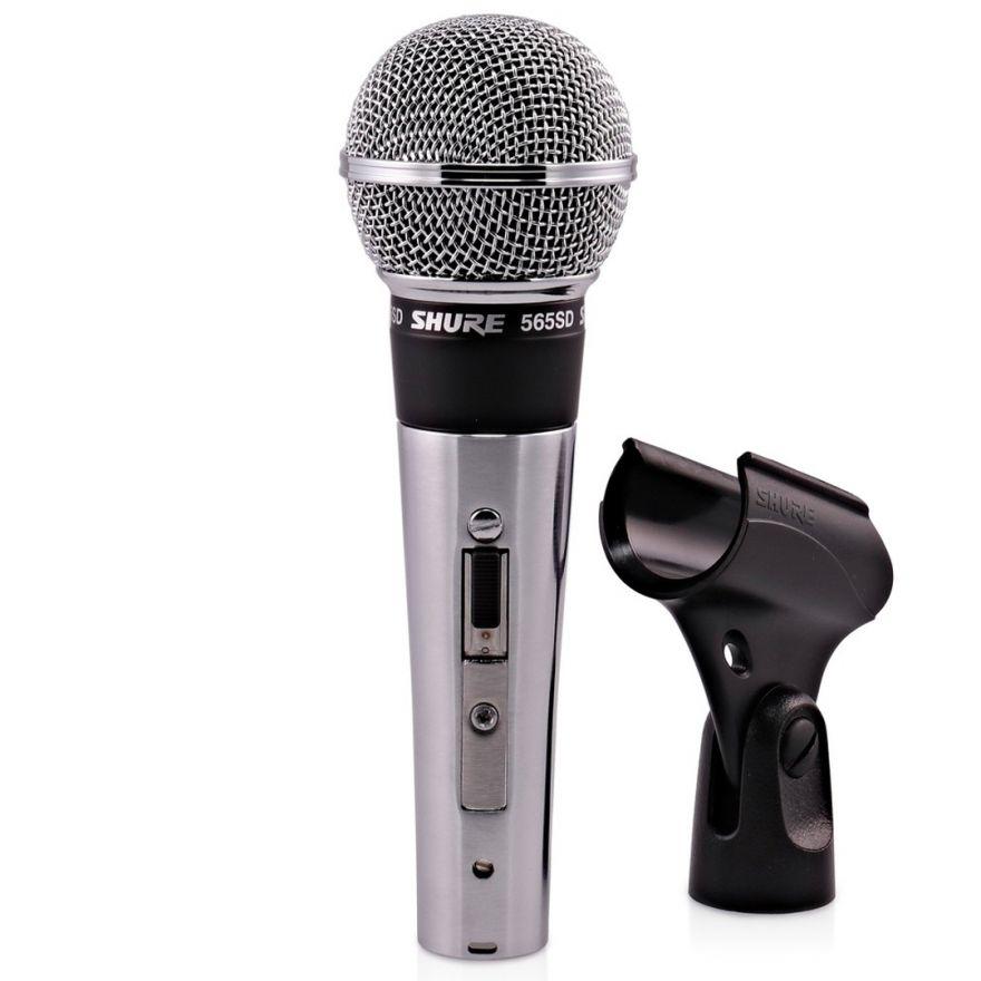 Shure 565SD - Microfono Classico Dinamico Cardioide per Voce