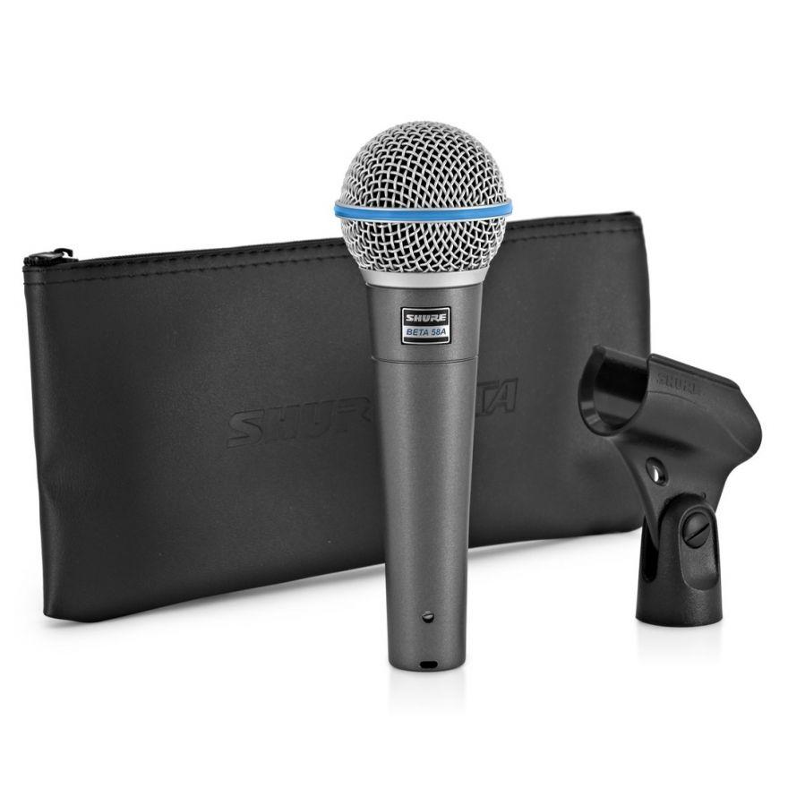 Shure Beta 58A - Microfono Dinamico Supercardioide per Voce