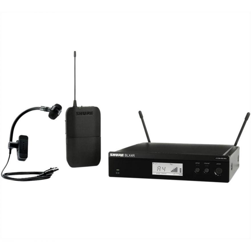 Shure BLX14RE / P98H M17 - Sistema Microfonico Wireless per Fiati