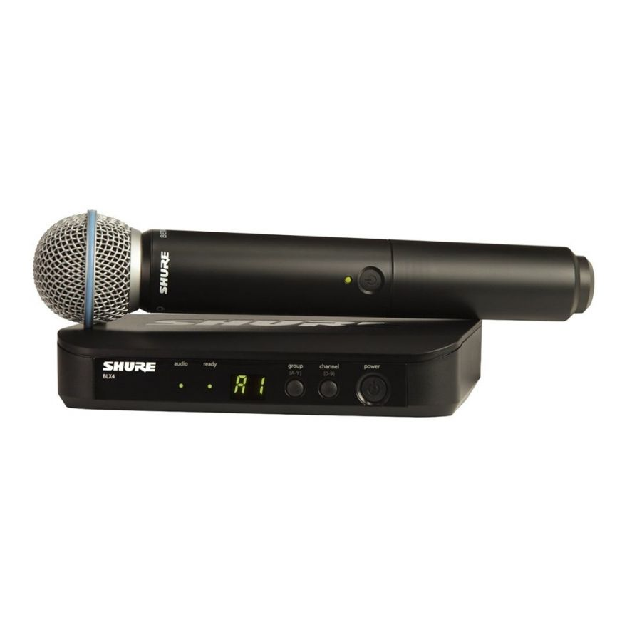 Shure BLX24E/B58 Beta58 T11 - Radiomicrofono con Capsula Beta58