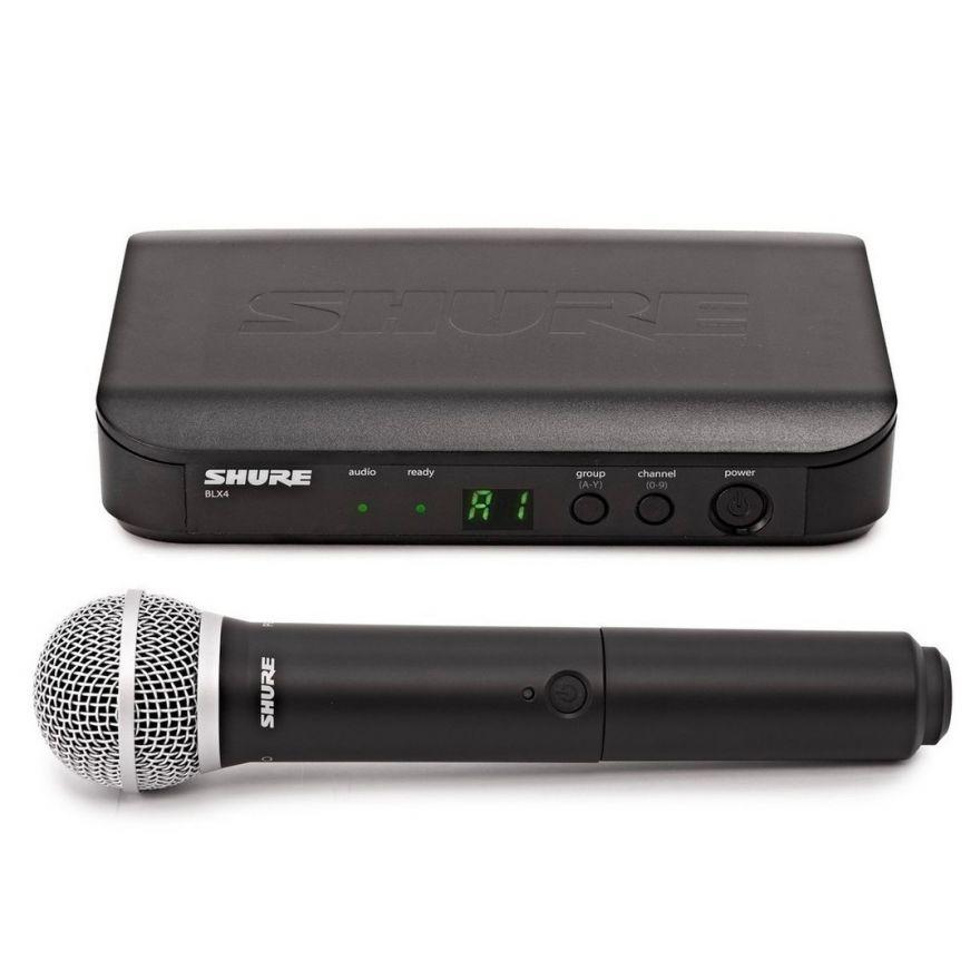Shure BLX24E/PG58 M17 - Radiomicrofono Palmare con Capsula PG58