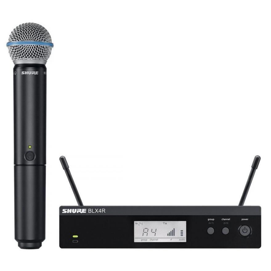 Shure BLX24RE/B58 - Radiomicrofono Palmare con Capsula Beta 58A