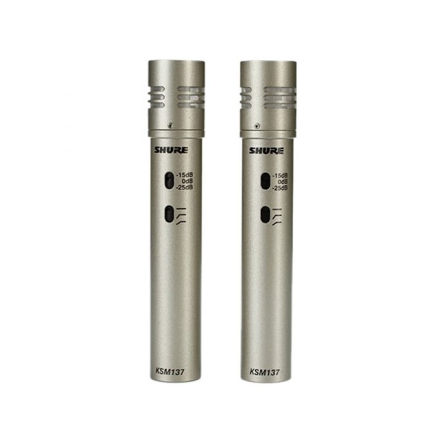 Shure KSM137/SL Coppia Stereo - Microfoni per Strumenti