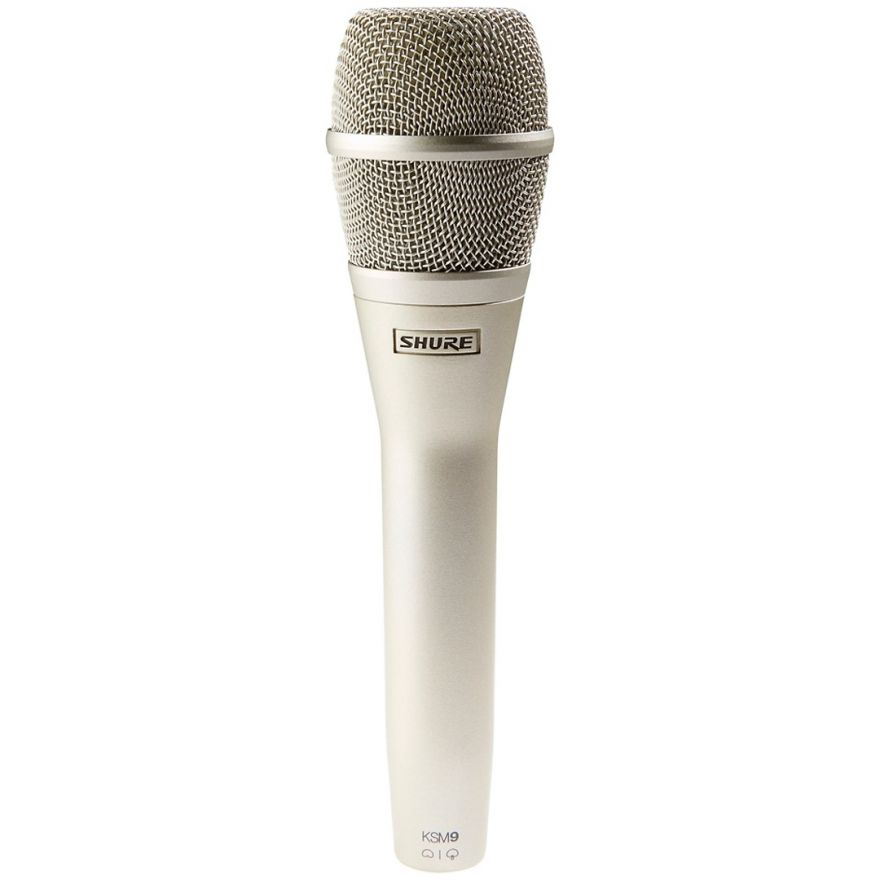 Shure KSM9/SL - Microfono a Condensatore per Voce Champagne