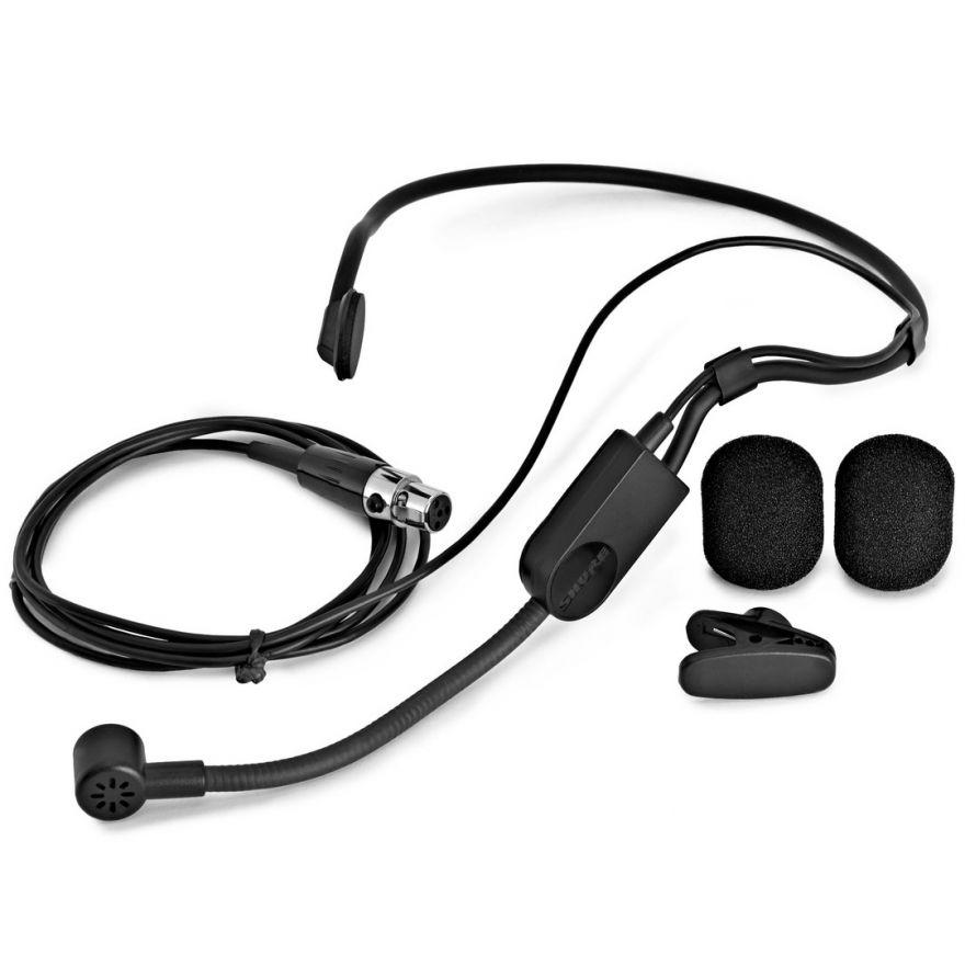 Shure Pga31-Tqg Microfono Ad Archetto Per Sport Fitness Parlato Speaking