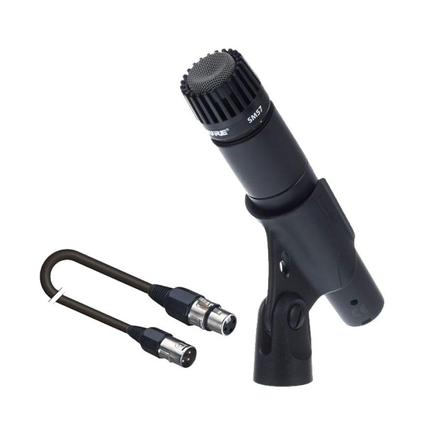SHURE SM57 Microfono per Strumenti con Cavo