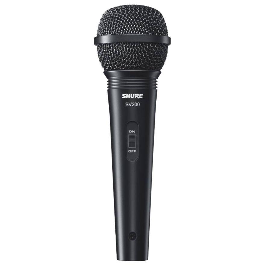 Shure SV 200 - Microfono Dinamico per Canto / Karaoke con Cavo Incluso