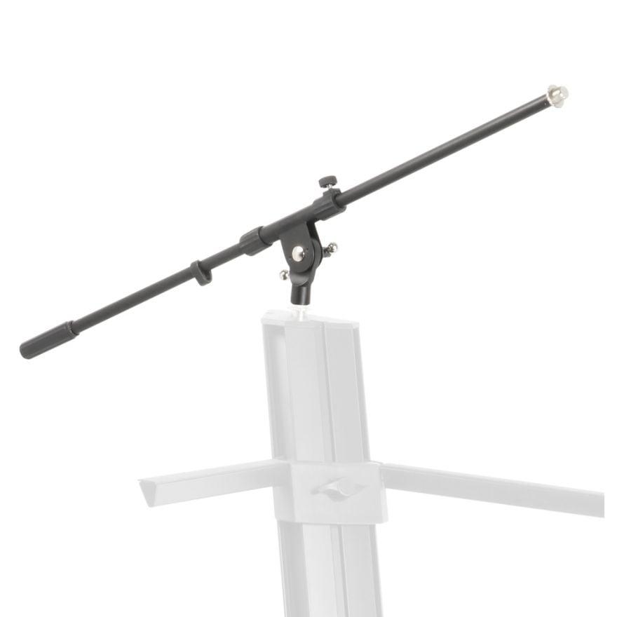 Adam Hall Stands SKS 22 MB - Braccio Orientabile per Supporto per Tastiera a 2 Posti estraibile