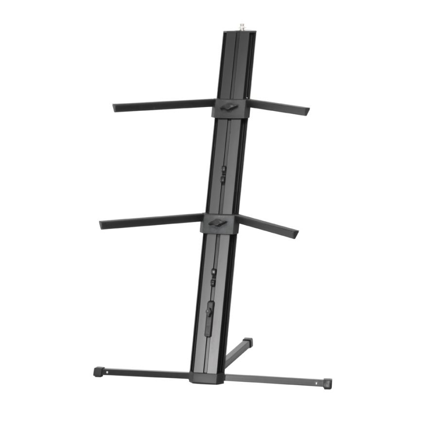 Adam Hall Stands SKS 22 XB - Supporto per Tastiera a 2 Posti