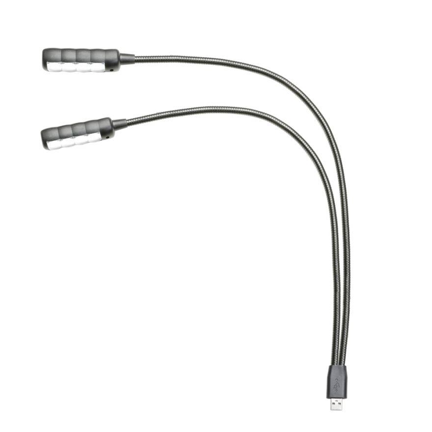 Adam Hall Stands SLED 2 ULTRA USB - Lampada a collo di cigno LED con collegamento USB