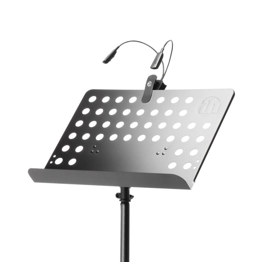 Adam Hall Stands SMS 17 SET 1 - Leggio con lampada a LED