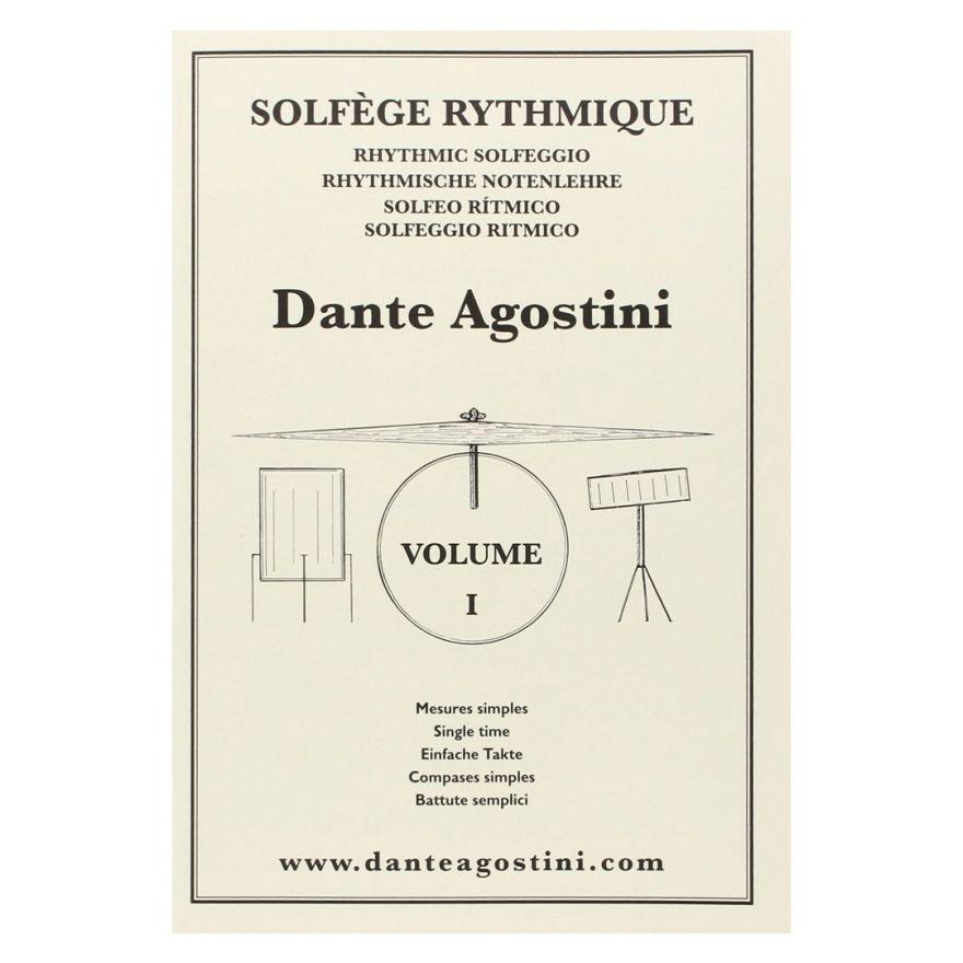 1 Solfège Rythmique Volume 1 Dante Agostini