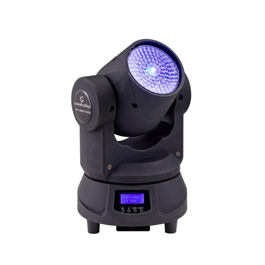 Soundsation MHL-60 MKII Zoom - Testa Mobile Beam