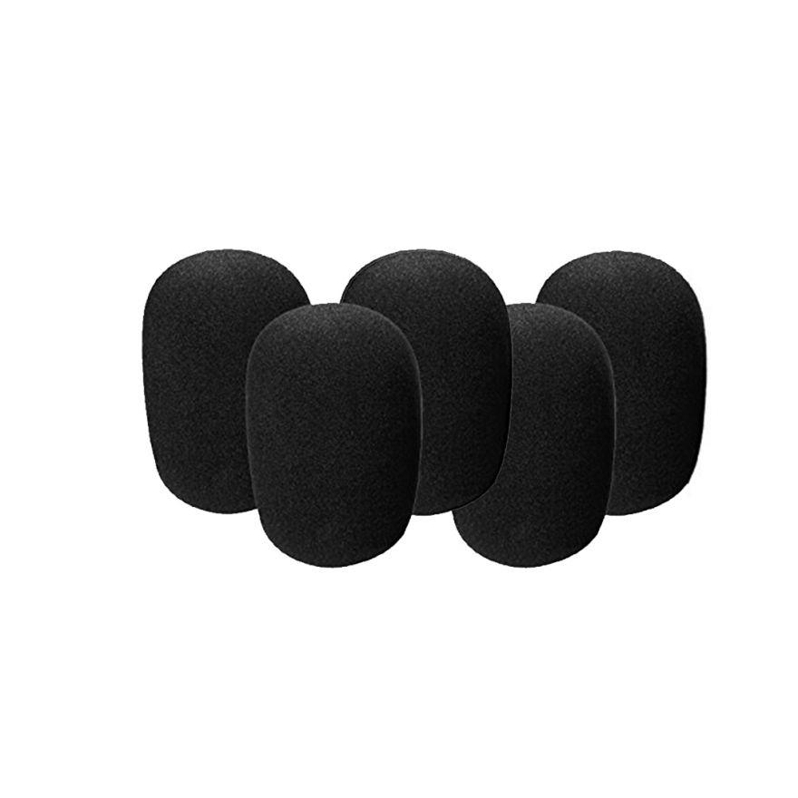 Confezione 5 Spugnette Antivento, Microfono Archetti/Headset