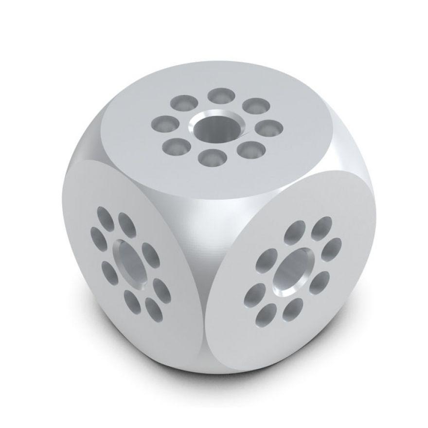 Showtec - Single Tube Cube - semi-connettori non forniti in dotazione