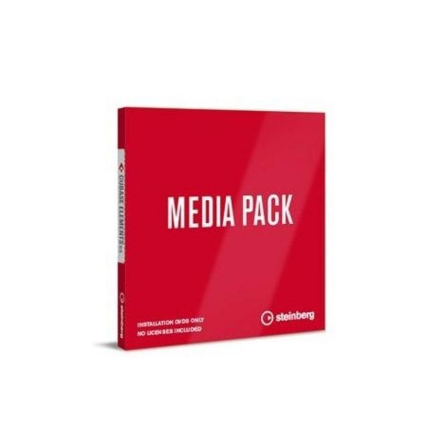 Steinberg Media Pack per Cubase Pro / Artist 9.5 - DVD di Installazione