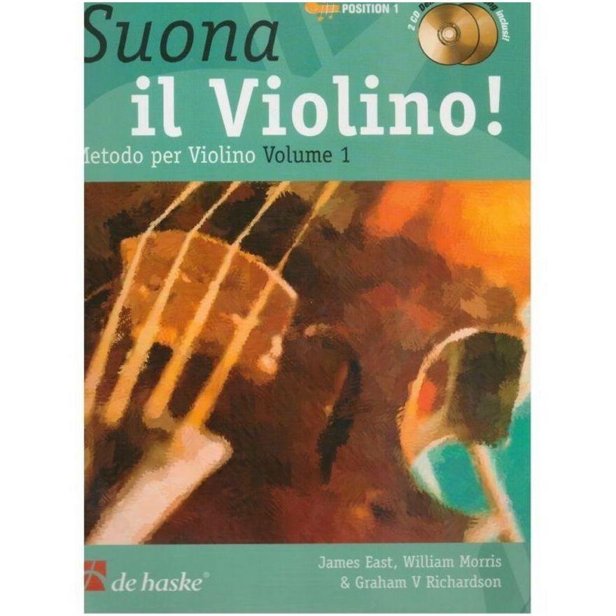 1 Suona il Violino! Metodo Vol. 1De Haske Publications