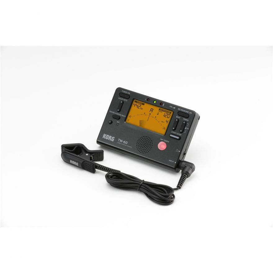 KORG Tm 60C Bk - Accordatore con microfono 1