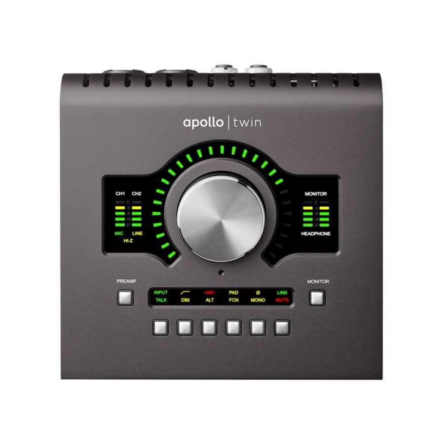 UNIVERSAL AUDIO APOLLO TWIN DUO MKII - Interfaccia Audio Thunderbolt