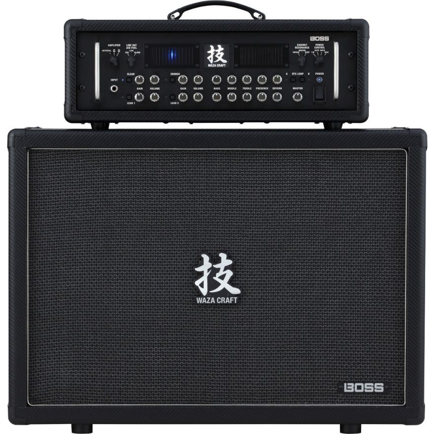 BOSS HEAD & CAB WAZA CRAFT - Testata 150W e Cabinet 2 x 12
