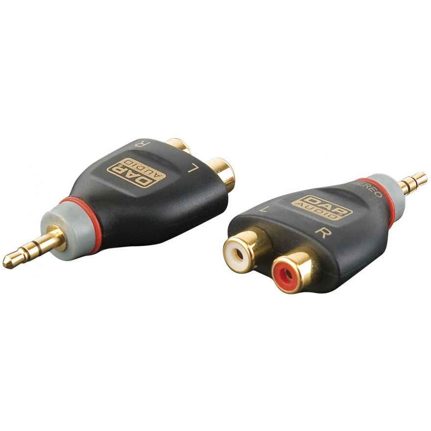 DAP-Audio - XGA17 - Mini Jack/M stereo > 2 x RCA/F - Adapters