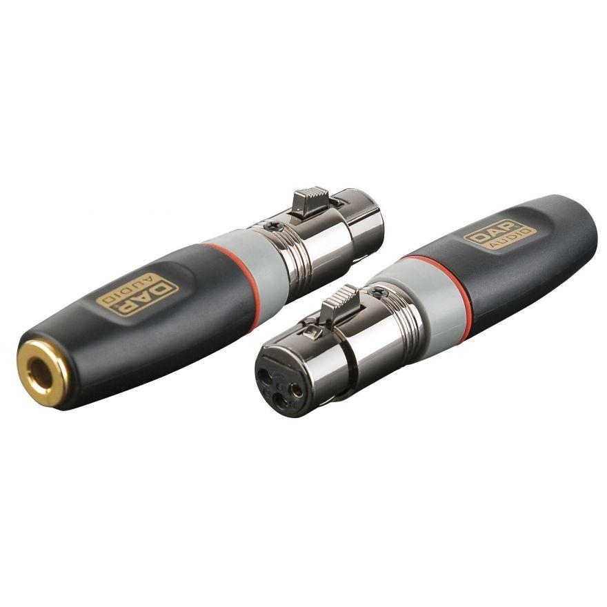 DAP-Audio - XGA22 - XLR/F 3p. > Jack/F Balanced - Adapters